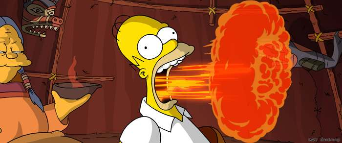 The Simpsons Movie Reeling Reviews